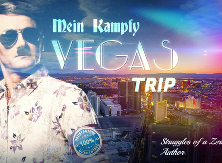 Mein Kampfy Vegas Trip: Struggles of a Zero-Fucks, Author