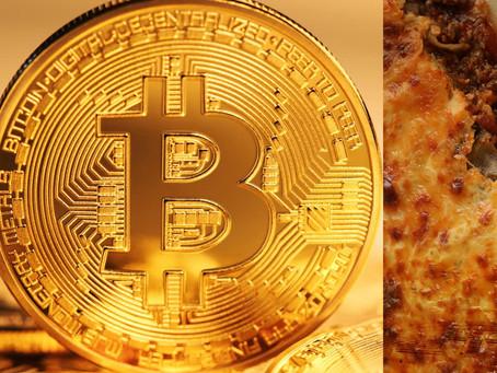 Bitcoin, Bubbles & Punched Lasagna