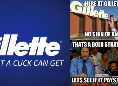 Gillette: The Best A Cuck Can Get