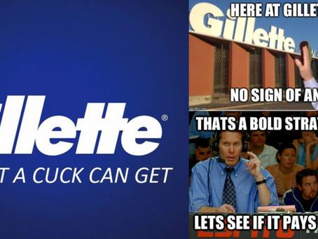 Gillette: The Best A Cuck Can Get
