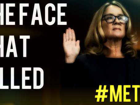 Christine Blasey Ford: The Face That Killed #MeToo for Cash & Prizes