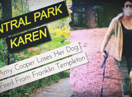 CENTRAL PARK KAREN: Amy Cooper Fired From Franklin Templeton; Loses Her Dog