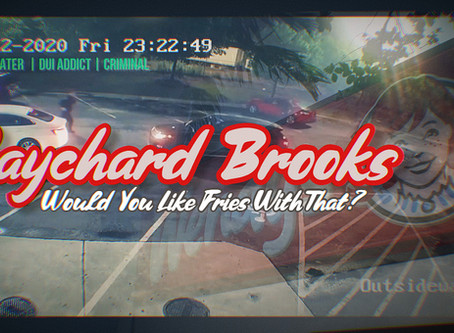 Raychard Brooks Was A Child-Abuser; Our Society Worships Criminals And Feelings Over Facts