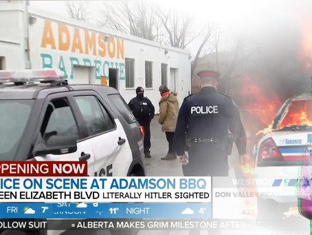 Literally Hitler Keeps Adamson BBQ Open, By Doing Some BBQing Of His Own Via Commie Genocide