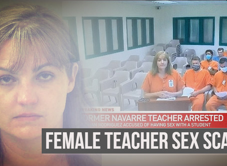 Female Teacher, Meghan Rodriguez, 'had unprotected sex with student, claiming she was infertile'
