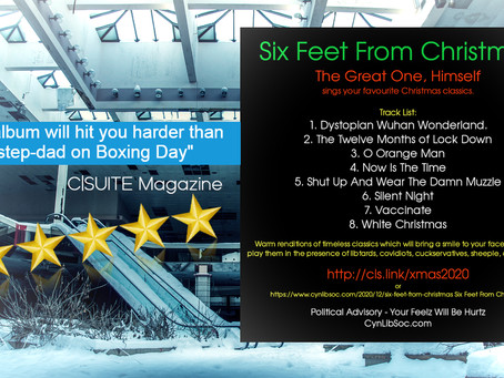 C|Suite Magazine's Review Of 'Six Feet From Christmas' (Album), By TheGreatOne, Himself