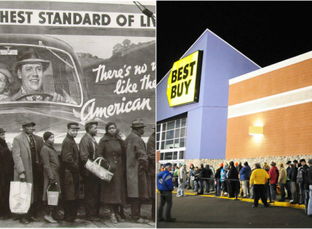 Breadlines vs. Indebted Lines