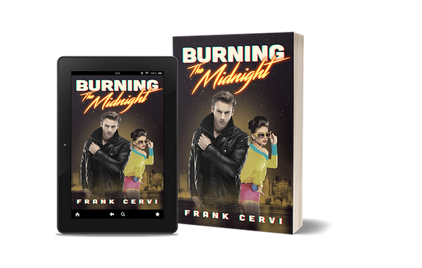 Frank Cervi's book Burning The Midnight