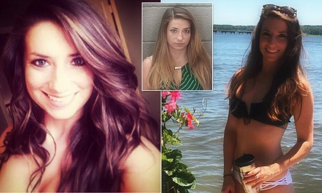 Hot math teacher Erin Mcauliffe, 25 (smokeshow) arrested for banging and fulfilling the dreams of three male students.