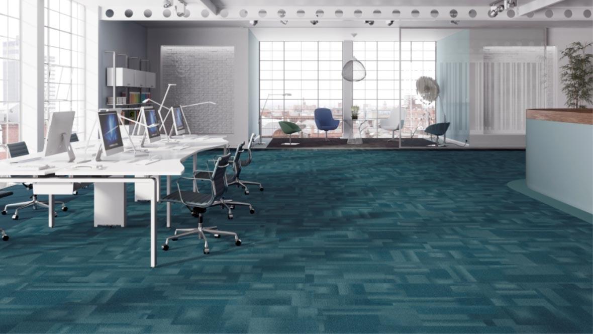 Commercial-Carpet-Teal