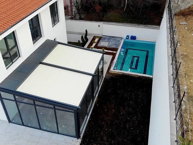 Villa Drone Çekimi I Pencere
