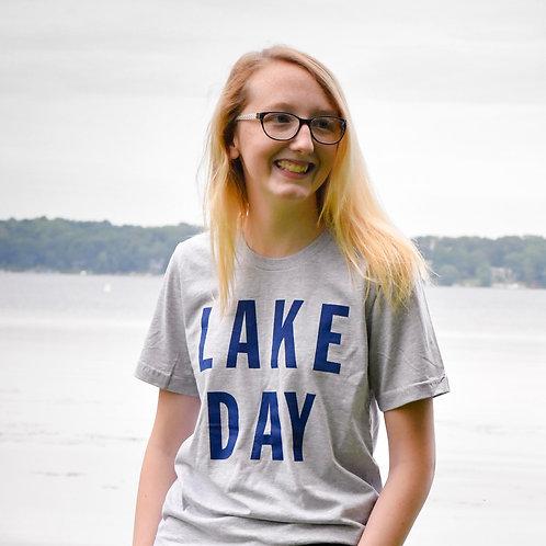 Lake Day Block T-Shirt