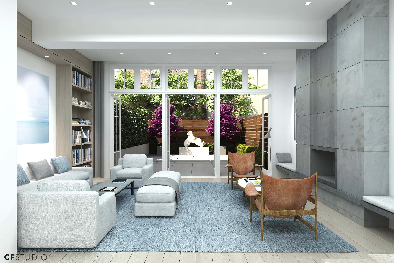 Ground Floor Apartment Living Room