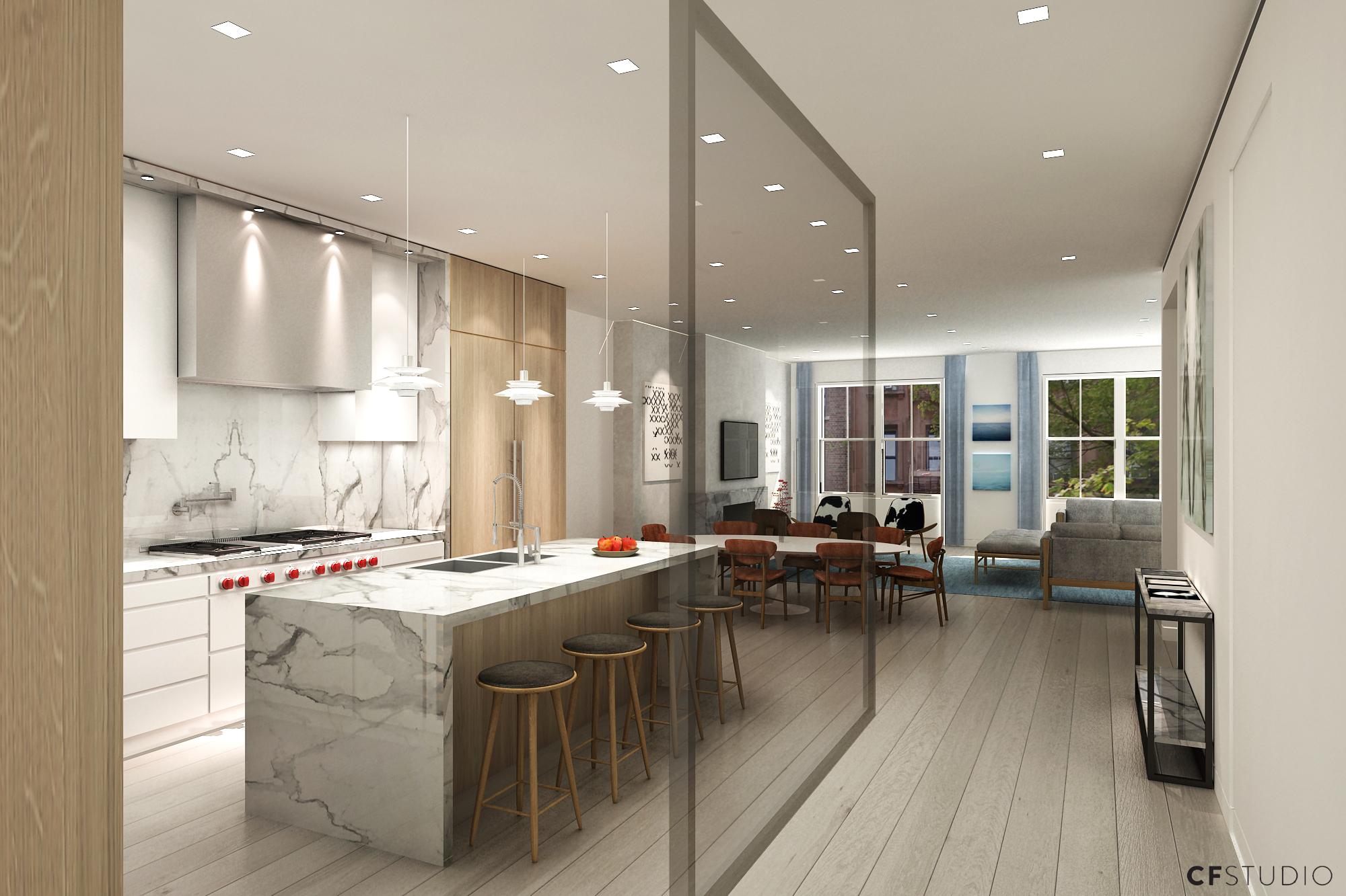 4th Floor Appartment - Kitchen