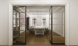 Central Park West Residence - Dinning ro