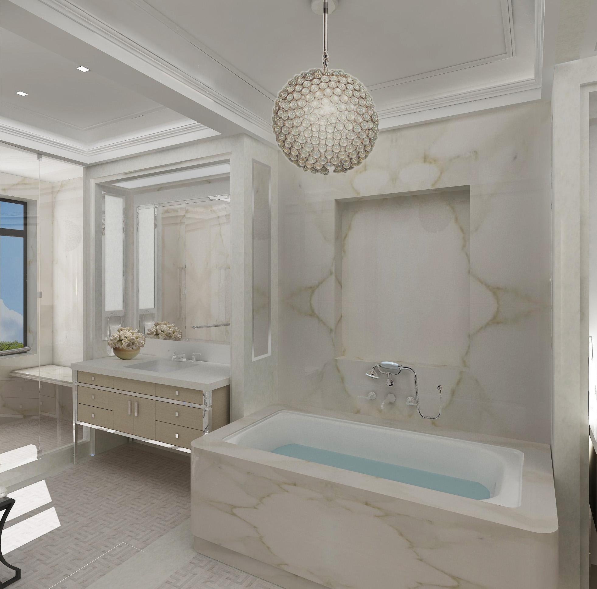 Central Park West Residence - Bathroom 2