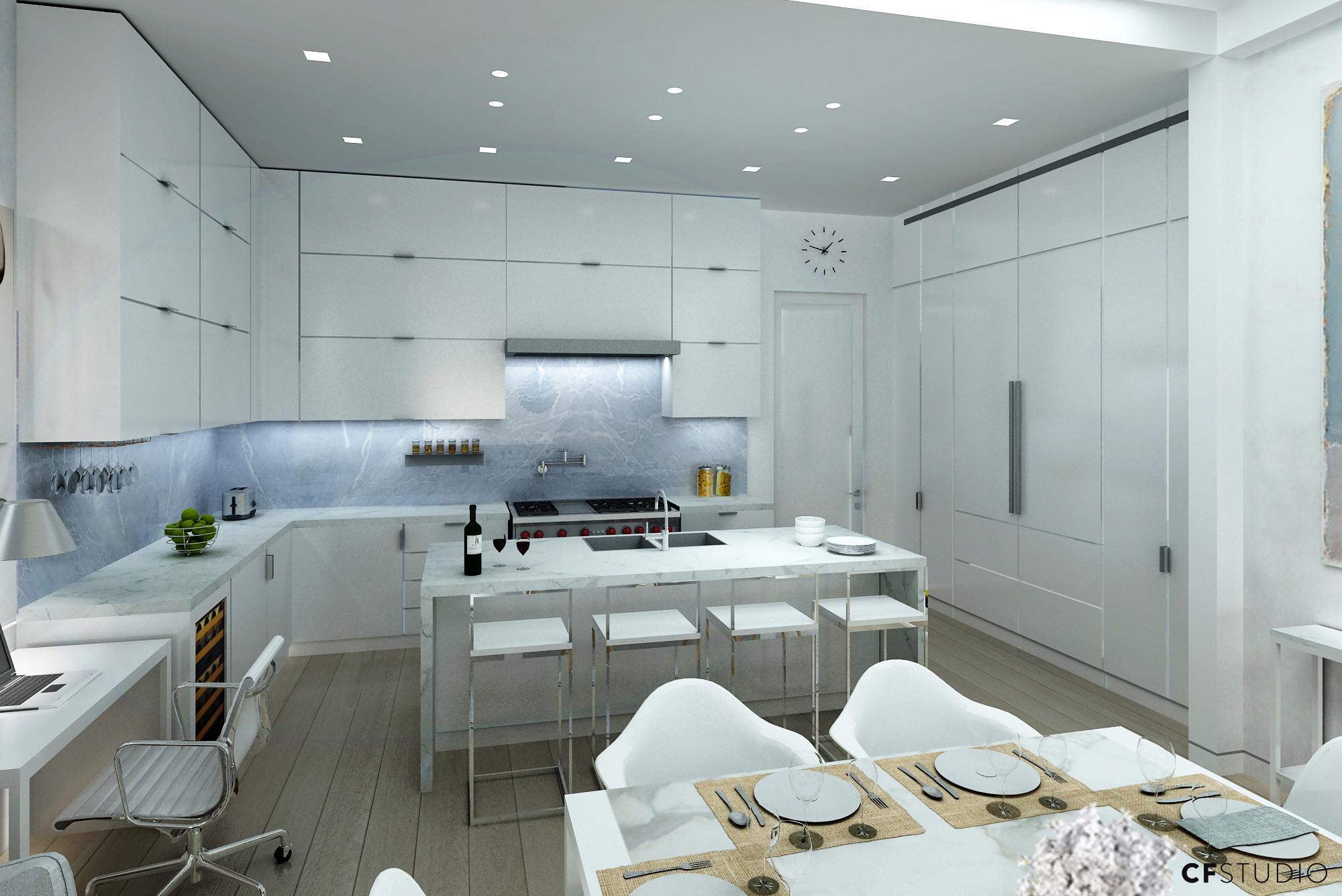 Ground Floor Apartment Kitchen