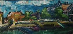 Expressionistische Landschaft