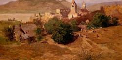 Blick auf Dürnstein vom Kuhberg