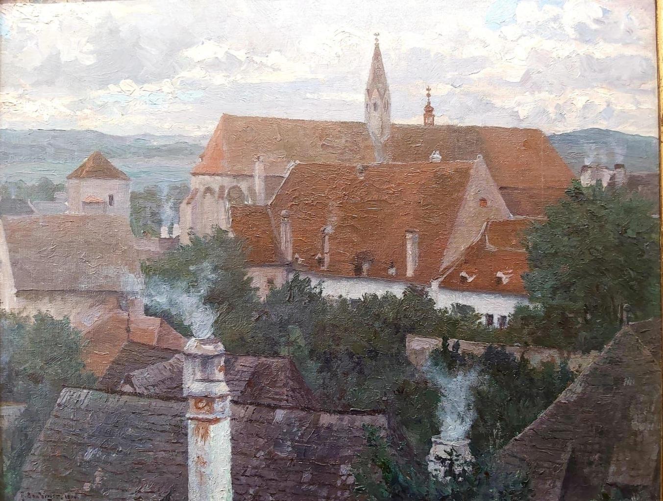 Bamberger Gustav - Blick auf Krems