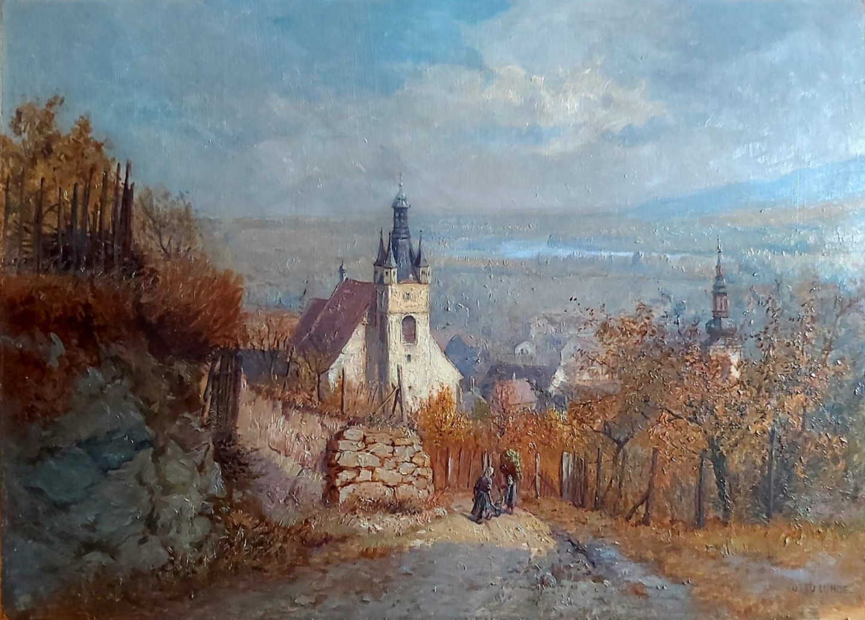 Luhde Otto - Blick auf Krems