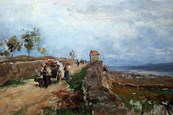 Weingartenweg bei Unterloiben