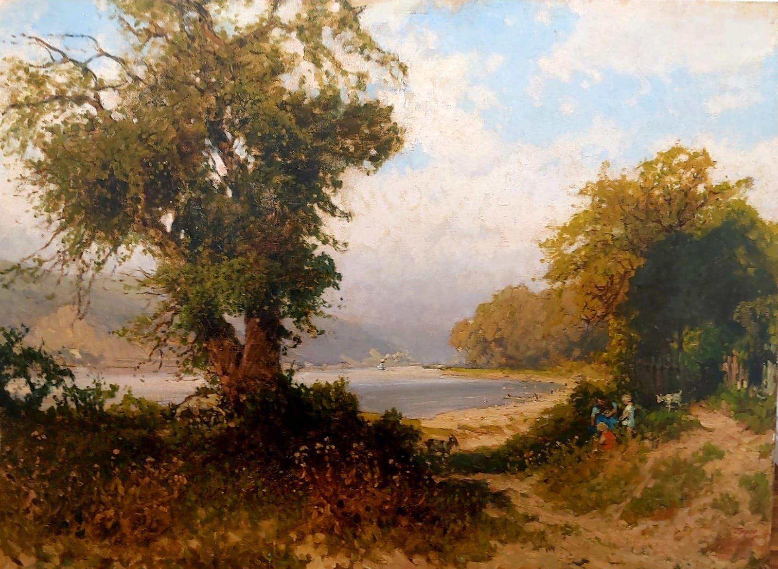 Tomec Heinrich - Badestrand in der Bucht von Weissenkirchen