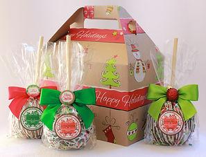 Gourmet Caramel Apple Gift Box
