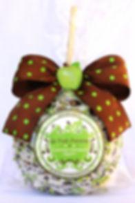 Signature Logo Jumbo Gourmet Caramel Apple