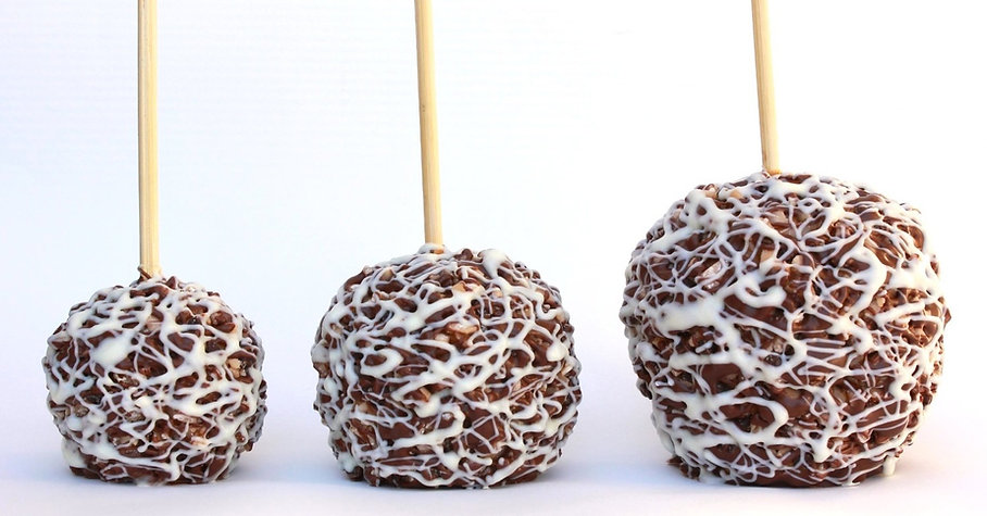 Gourmet Caramel Apple sizes