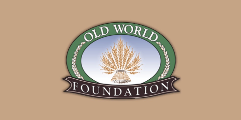 Old World Foundation Holiday Dinner