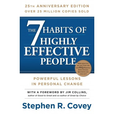 Stephen Covey 7 Habits of Highly Effective People book cover