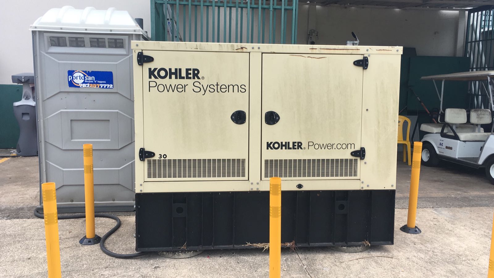 Royals Relocated 30kW Generator for Bayamon, Puerto Rico Leased Warehouse