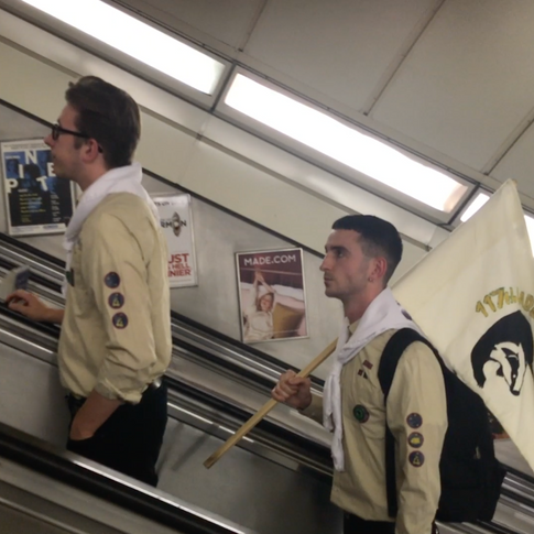Word in Transit 4, 117th Badgerscouts