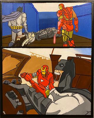 Batman & Iron Man x Kanye West & Jay Z