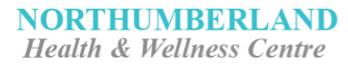 Northumberland Health & Wellness Centre.