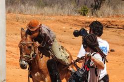 Zuca Cunha em ação