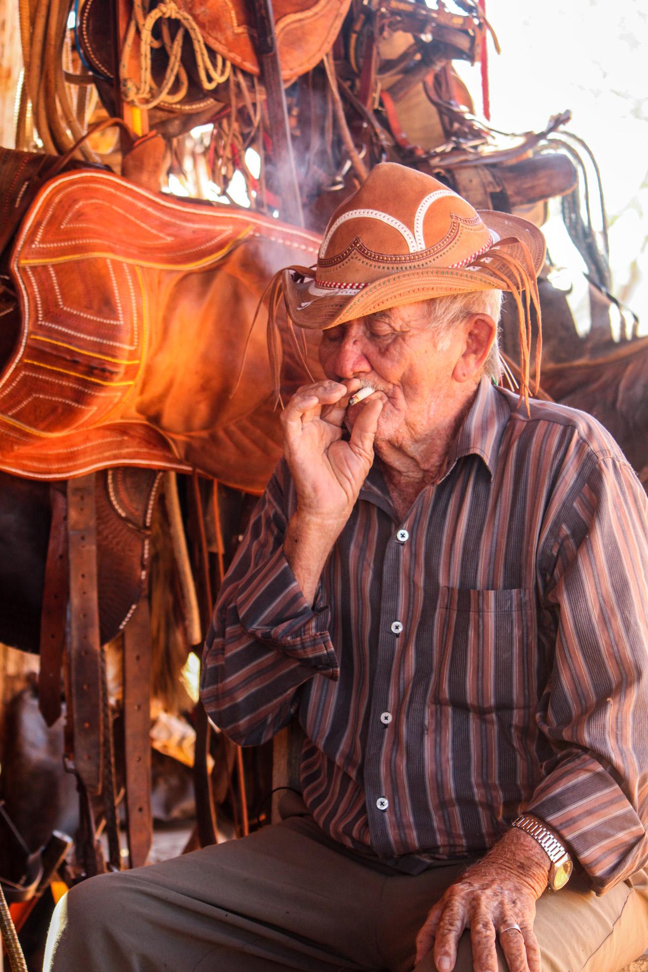 Zuca Cunha, vaqueiro desde 1933