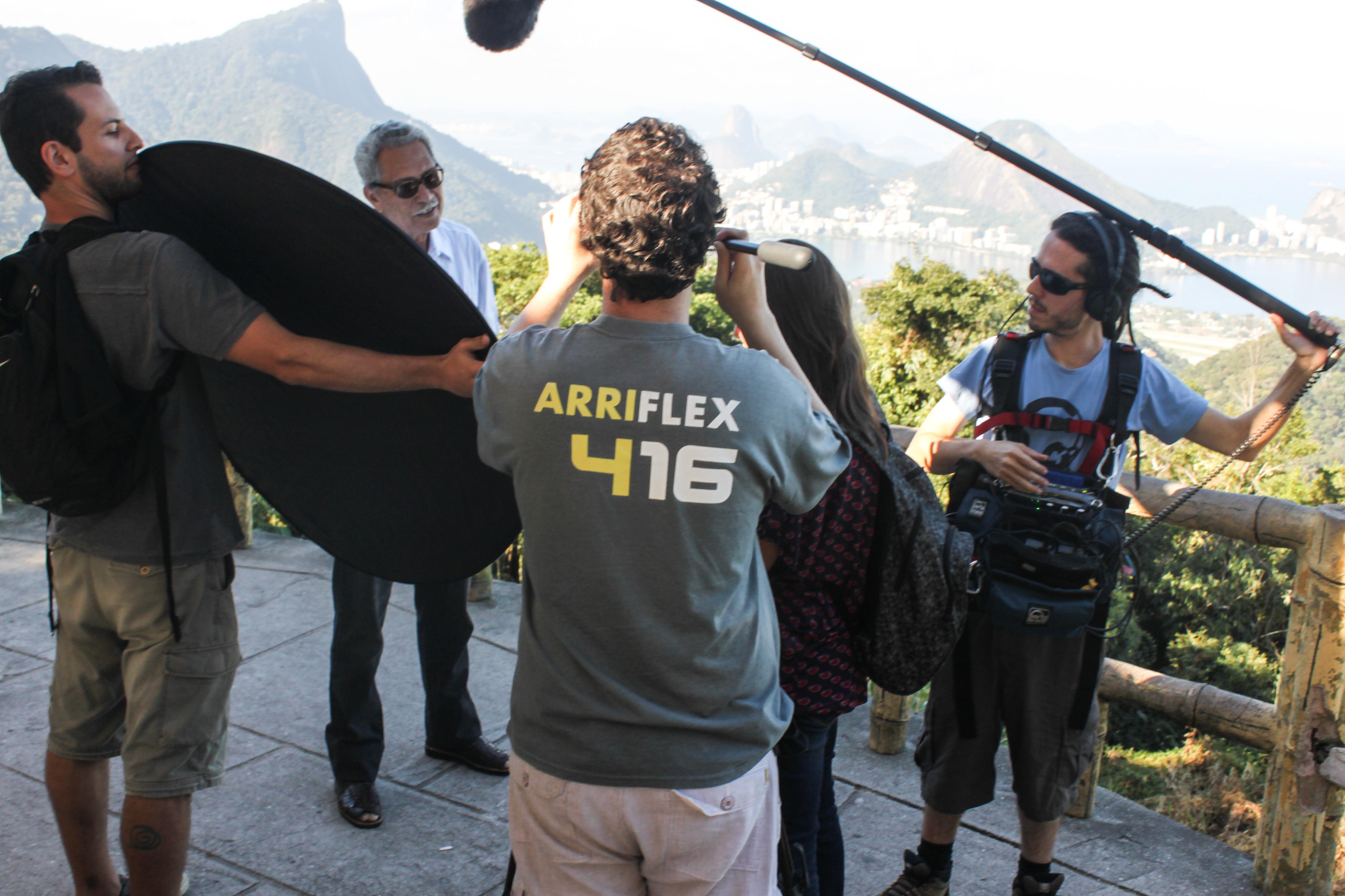 Entrevista no Rio de Janeiro