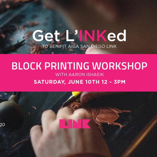 Get L'INKed Fundraiser Workshop