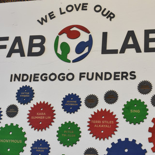 AIGA LINK'd Fundraiser at FAB LAB