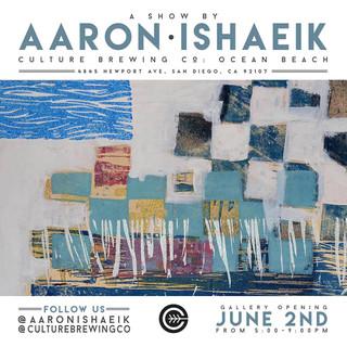 Printmaking Demo at Culture Brewing Ocean Beach