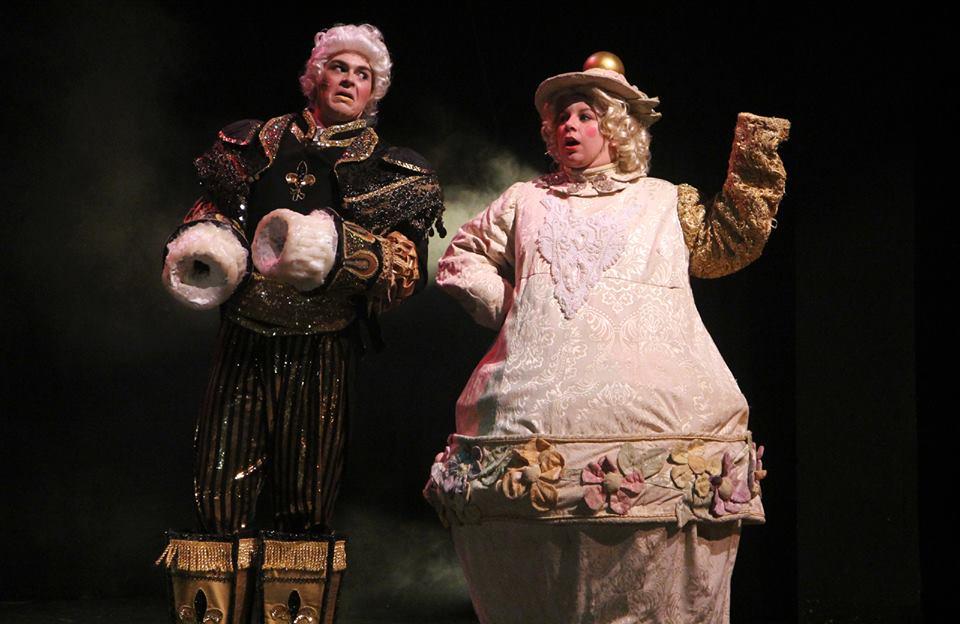 Lumiere and Mrs. Potts