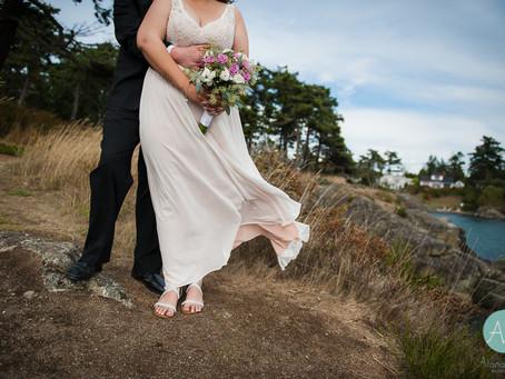 Saxe Point Park Wedding Photography