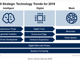 10 tendências tecnológicas estratégicas para 2019, segundo o Gartner
