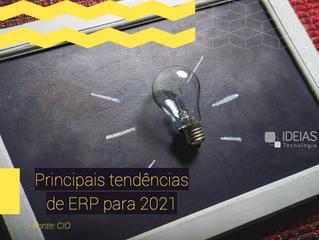 7 principais tendências de ERP para 2021