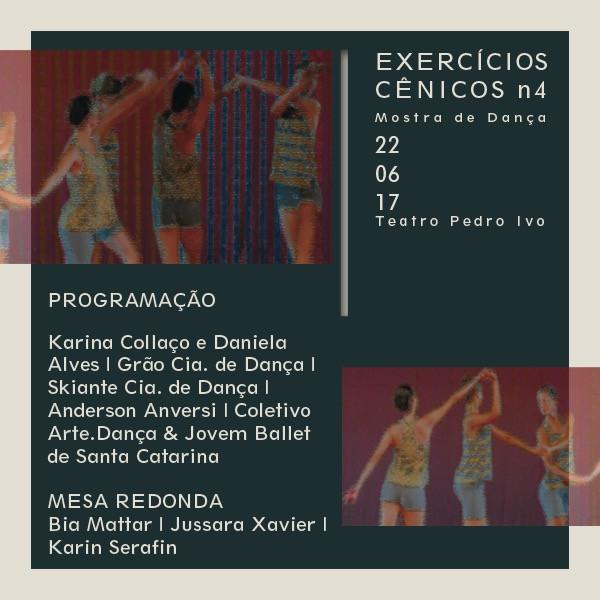 Mostra de Dança: Exercícios Cênicos