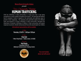 Free Community Training - Human Trafficking