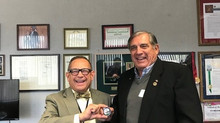Rincon Band Chairman Receives  2018 CalVet Coin