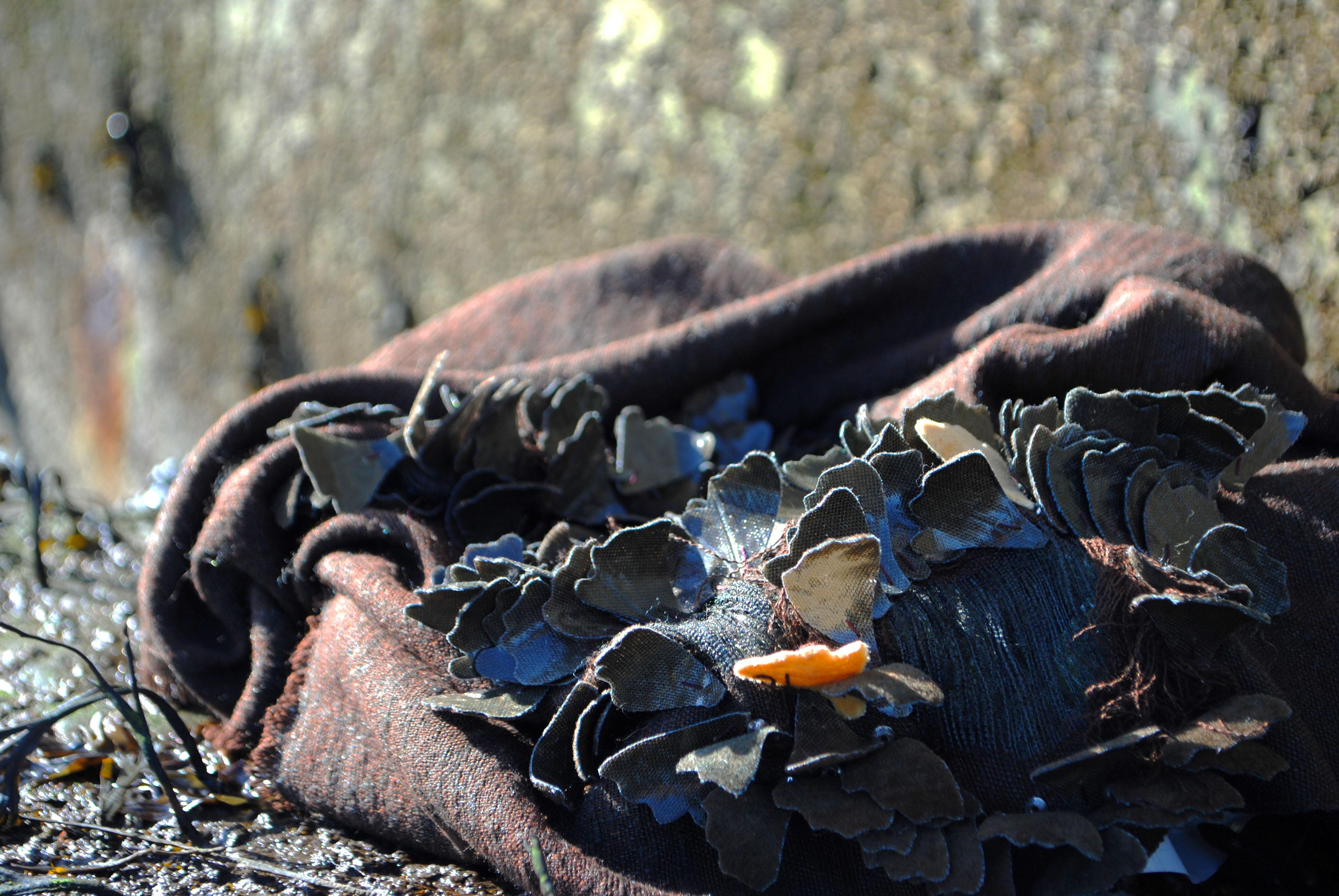 Seaweed inspired Embellished Sample
